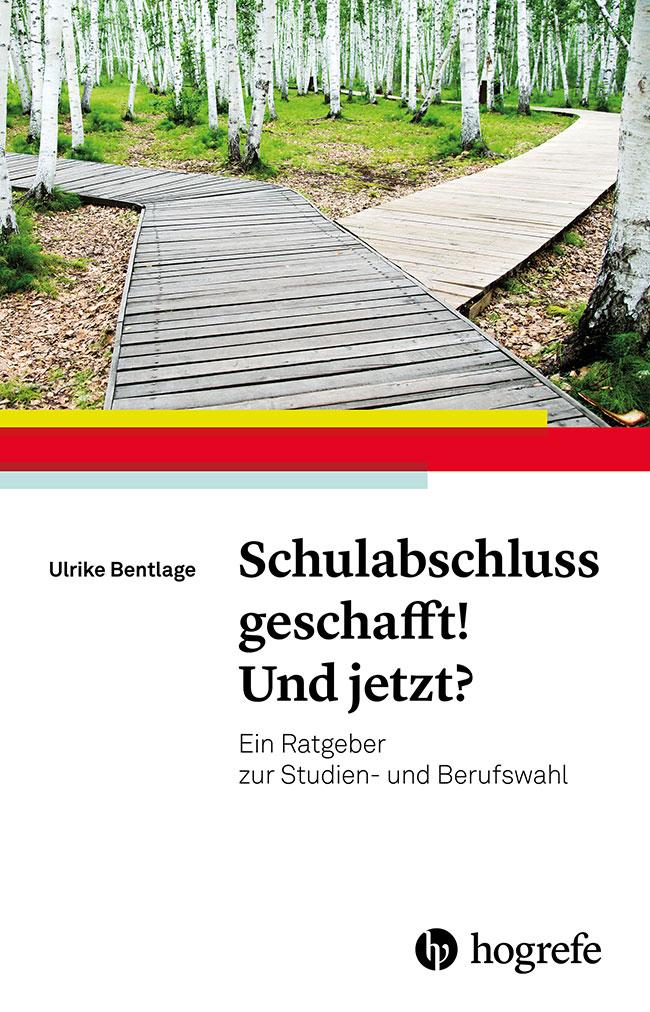 Buchcover des Studien- und Berufswahl Ratgebers von Ulrike Bentlage